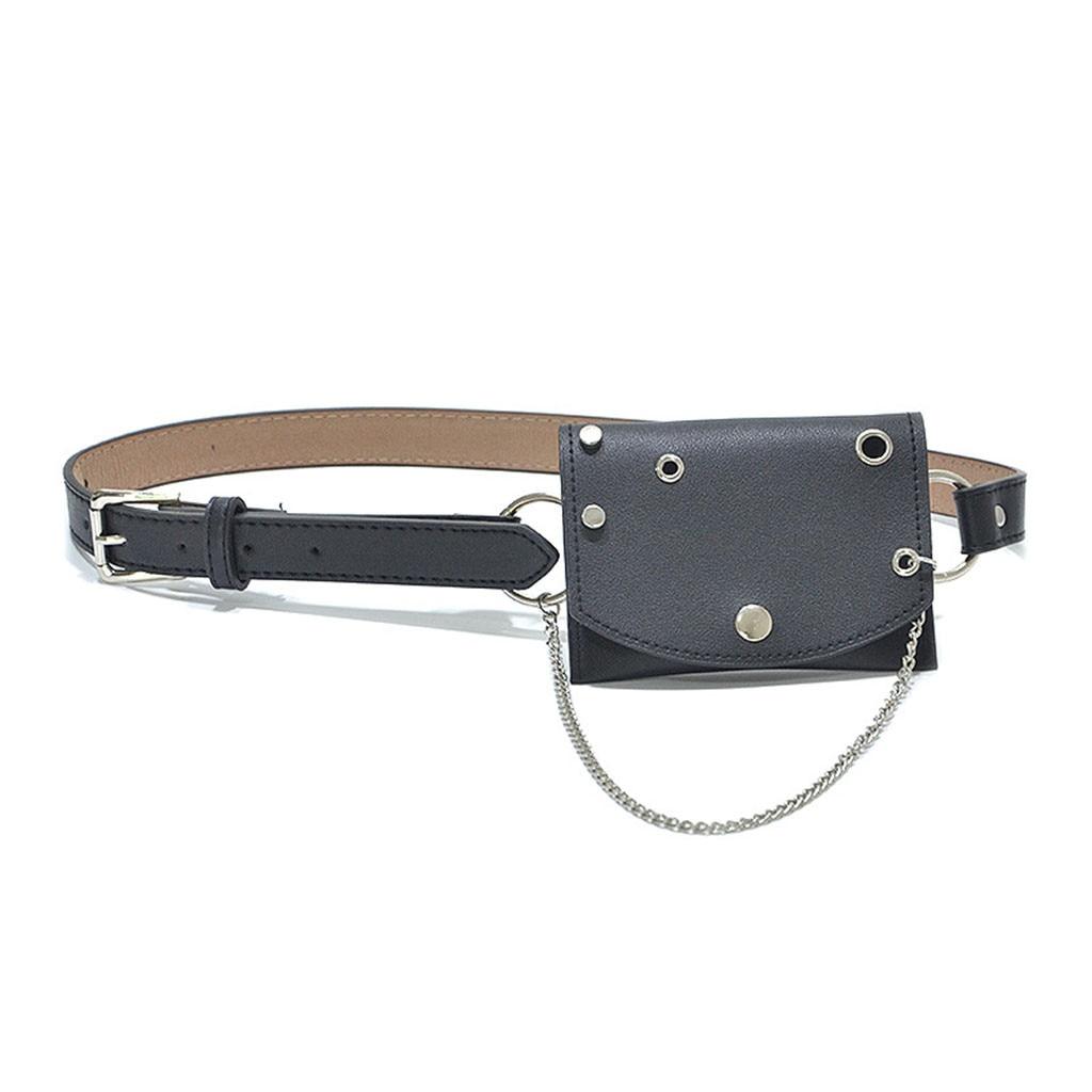 Female Belt New Brand Waist Bag Women Waist Pack Serpentine Fanny Pack For Women Leather Snake Skin Waist Belt Bag Chest Bag