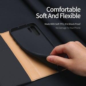 Image 4 - Funda de lujo con tapa magnética para Samsung Galaxy Note 10 Plus, Funda de cuero genuino para Samsung Note 10 Plus 5G