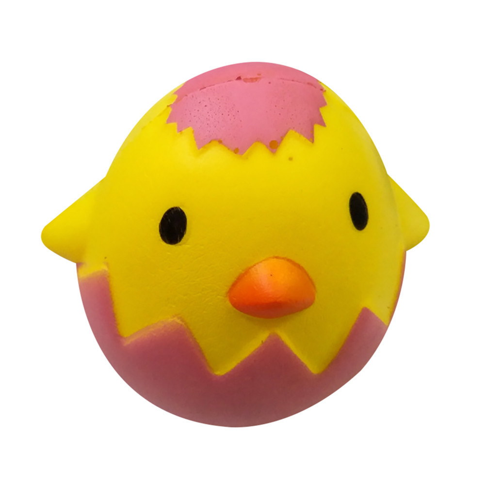 Broken Egg Shell Slow Rising Kids Toys Stress Relief Toy Soft PU Antistrees Toys Decompression Squeeze Toys #B