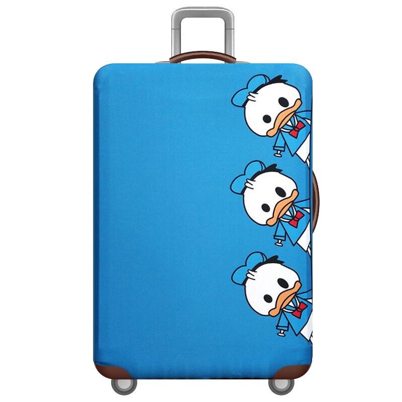 HMUNII карта мира, дизайнерский защитный чехол для багажа, Дорожный Чехол для чемодана, эластичные пылезащитные Чехлы для 18-32 дюймов, аксессуары для путешествий - Цвет: G-Luggage cover