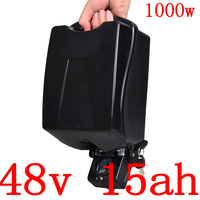 48V 15AH lithium battery 48V 13Ah 15Ah 18Ah 20Ah electric bike Battery with 30A BMS and  2A charge for 48V 500W 750W 1000W motor