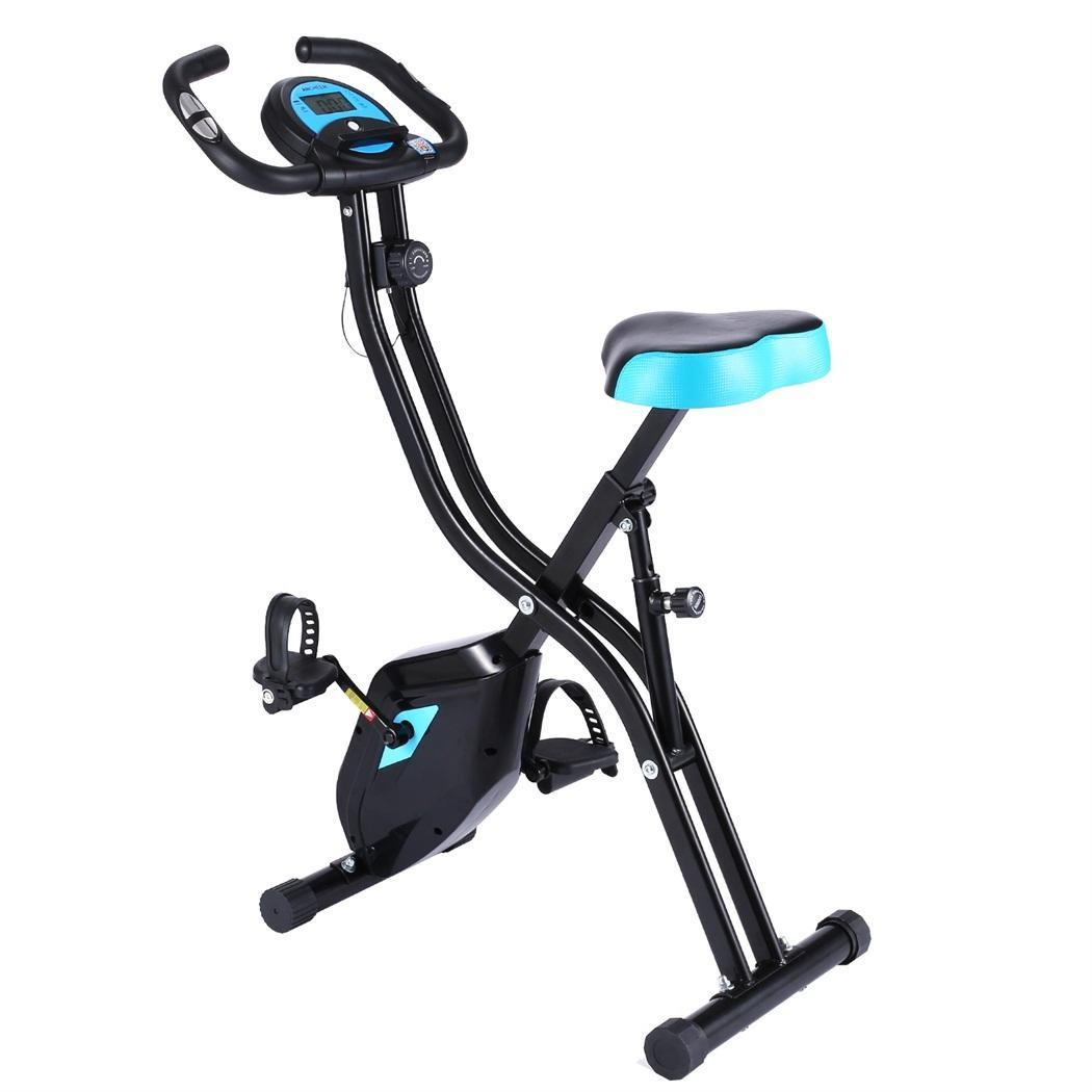 Folding Fitness Bicycle LCD Display Spinning <font><b>Bike</b></font> Cardio Trainer Lose Weight Indoor Exercise <font><b>Bike</b></font> Cycling Fitness <font><b>Equipment</b></font> image