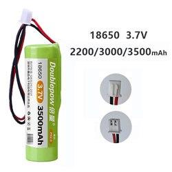 18650 3.7V Rechargeable Lithium Battery Pack 2200mah 3500mah Fishing LED Light Bluetooth Speaker 4.2V Emergency DIY Batteries