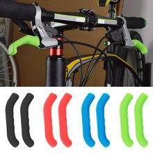 Mountain Bike Brake Handle Set High Quality Bicycle Handlebar Cover Soft Grip Rubber End