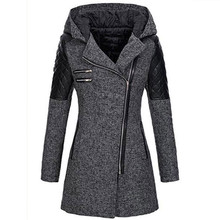 Winter Coat Women Warm Slim Jacket Thick Parka Overcoat Winter Outwear Hooded Zipper Coat women winter warm lapel trench parka coat jacket long slim overcoat outwear