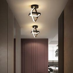 Oświetlenie sufitowe LED korytarz nowoczesne koło szatnia Nordic Ins ganek wiatrowy światło balkonowe strona główna sufitowa lampa oświetleniowa Lampara Techo|Oświetlenie sufitowe|   -