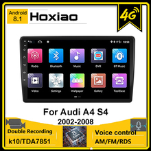Android 8.1 Car GPS Radio For Audi A4 2 3 B6 B7 2000-2009 S4 2002-2008 RS4 2005-2009