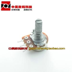 Одиночный потенциометр B10K потенциометр усилителя мощности длинной ручкой T03 20 мм