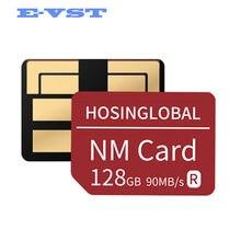 Nano cartão de memória para huawei mate40 mate30 x pro p30 p40 pro série nova5 6 matepad 2020 nova versão leia 90 mb/s