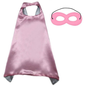 Halloween Christmas Superhero Two-Piece Cloak Cartoon Costume Hero Game Costume Cape with Mask for Kids Birthday Cosplay 2