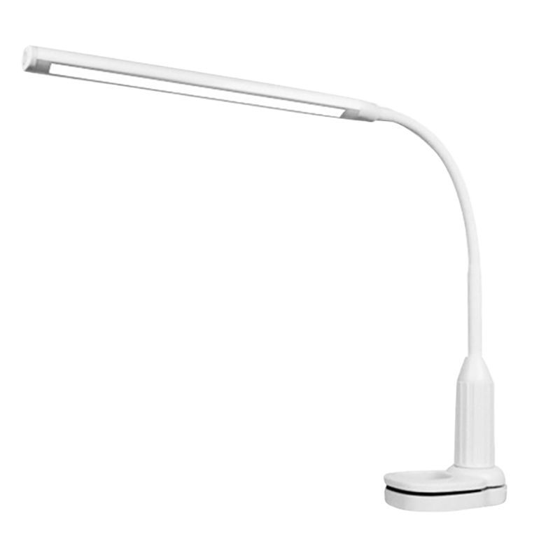 24 LEDs Dimmable Flexible Study Clamp Desk Lamp Eye-Care Press Sensitive 5W Light, Memory Function, USB Powered, 50000 Hours Lif