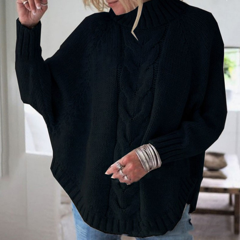 Loose Sweaters Twisted Pull