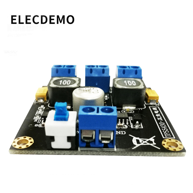 TPS5430 24V to positive and negative 5V12V15V  switching regulator power supply module board single power to dual power supply