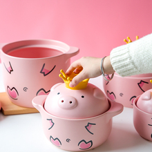 Casserole Stove Ceramic Stew Pot Rice Pig for Special-Stone Soup-Gas
