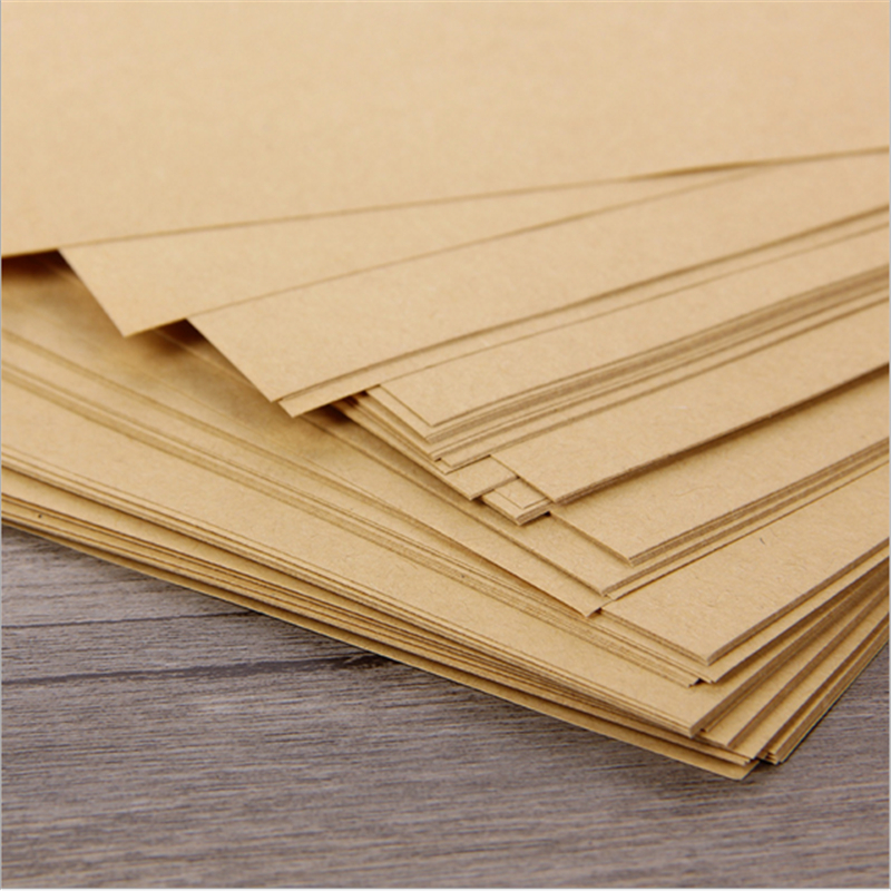 100 sheets Brown Kraft A4 Card