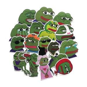34 шт./лот, наклейки Pepe Sad Pepe, водостойкая наклейка для сноуборда, багажа, автомобиля, холодильника, автомобиля, наклейки для ноутбука, сделай с...