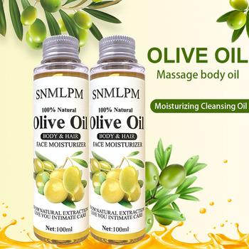 SNMLPM 100ml olejek do masażu ciała aromat olejki eteryczne pielęgnacja włosów oliwa z oliwek relaks poprawić stan skóry olejek eteryczny pielęgnacja skóry tanie i dobre opinie MOPOYAT Związek olejku CN (pochodzenie) olive 0016 CHINA BERRIES Pure Essential Oil GMP MSDS Skin Revitalizer moisturizer Nourishing lightening