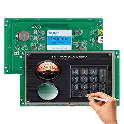 7 Cal dotykowy wyświetlacz LCD moduł z płyta kontrolera + Program interfejs szeregowy 100 sztuk