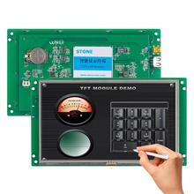 7 inch LCD touch display module with controller board + program serial interface