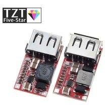 TZT grzywny 6-24V 12V/24V do 5V 3A ładowarka samochodowa USB moduł DC Buck przekształtnik Buck 12v 5v moduł zasilania, aby dobrze