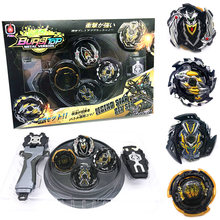 Original Box Beyblade Burst For Sale Metal Fusion 4D With Launcher and arena Spinning Top Set Kids Game Toys AAA(China)