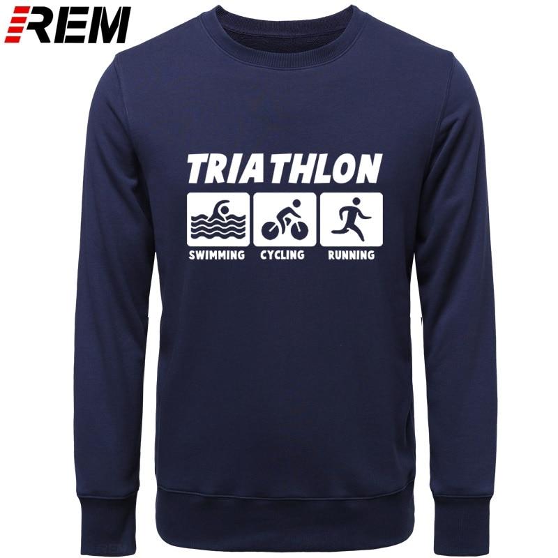 Image 3 - REM New Men Casual Hoodies Triathlon Best Cotton O Neck Long Sleeve Streetwear Mens Sportswear Hoodies, SweatshirtsHoodies & Sweatshirts   -