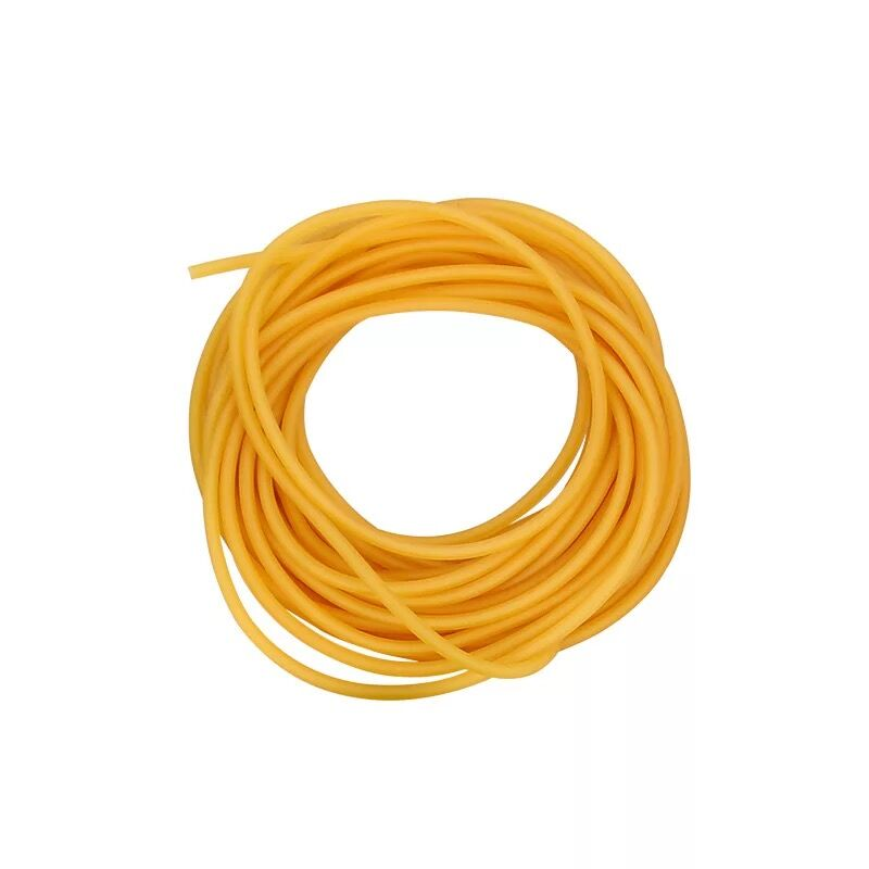 10m Black Slingshot Flat Rubber Band Thickness Multicolor Catapult Natural Latex Flat Elastic Elasticity For Hunting