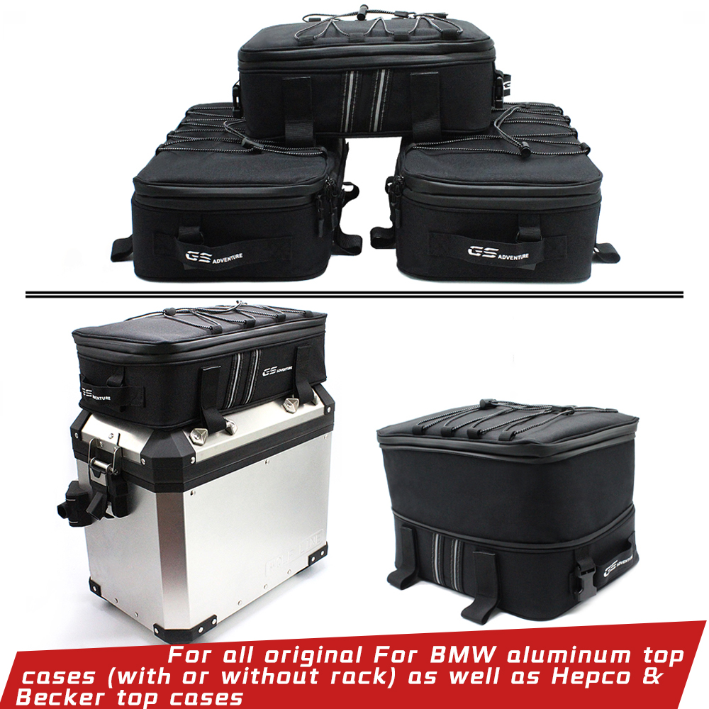R1250GS R1200GS Top Case Bag For Aluminum Alloy Side Box For BMW R1200 GS LC ADV F700GS F800GS F650GS G310GS Adventure R1200GSA