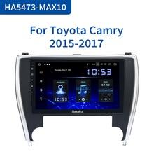 "Dasaita 10.2 ""araba radyo 1 Din Android 10.0 Toyota Camry abd versiyonu 2015 2016 2017 Bluetooth USB 64GB ROM"