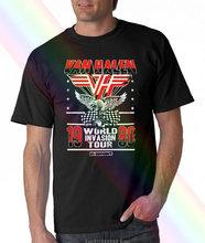 Van halen invasion tour 80 camisa masculina unisex t camisa oficial licenciado banda merch