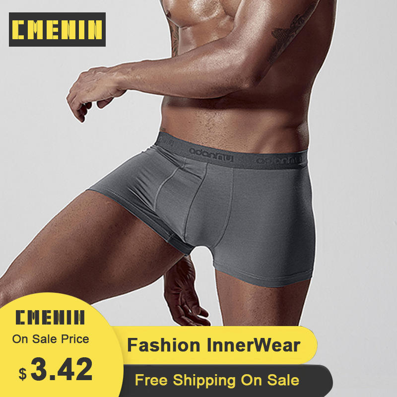 CMENIN Cotton <font><b>Boxers</b></font> Men Letter Comfortable <font><b>Boxer</b></font> mens underwear men Ins Style Lingeries Men underwear <font><b>boxer</b></font> <font><b>shorts</b></font> <font><b>Sexi</b></font> AD306 image