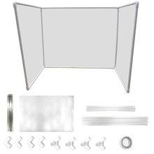 Прозрачный diy стойка для приема офисный стол изоляционный экран