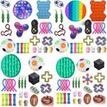 Dropshipping brinquedos fidget 20/23/24/27 pces pacote sensorial brinquedo conjunto anti stress alívio autismo ansiedade anti bolha de estresse para crianças adultos