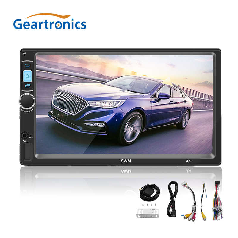 "A4 2din Android 8.1 Car Multimedia Speler 7 ""Touch Screen Gps Navi 1 Gb 16 Gb Bluetooth Wifi Fm camera Stereo Video MP5 Speler"