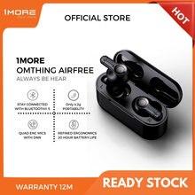 1MORE Omthing AirFree Auriculares Bluetooth inalámbricos con 4 microfono True wireless Headset ENC de 7mm, batería dinámica de 550mAh, compatible con aplicación OTA, asistente de Google y Siri heartphone, 1 más