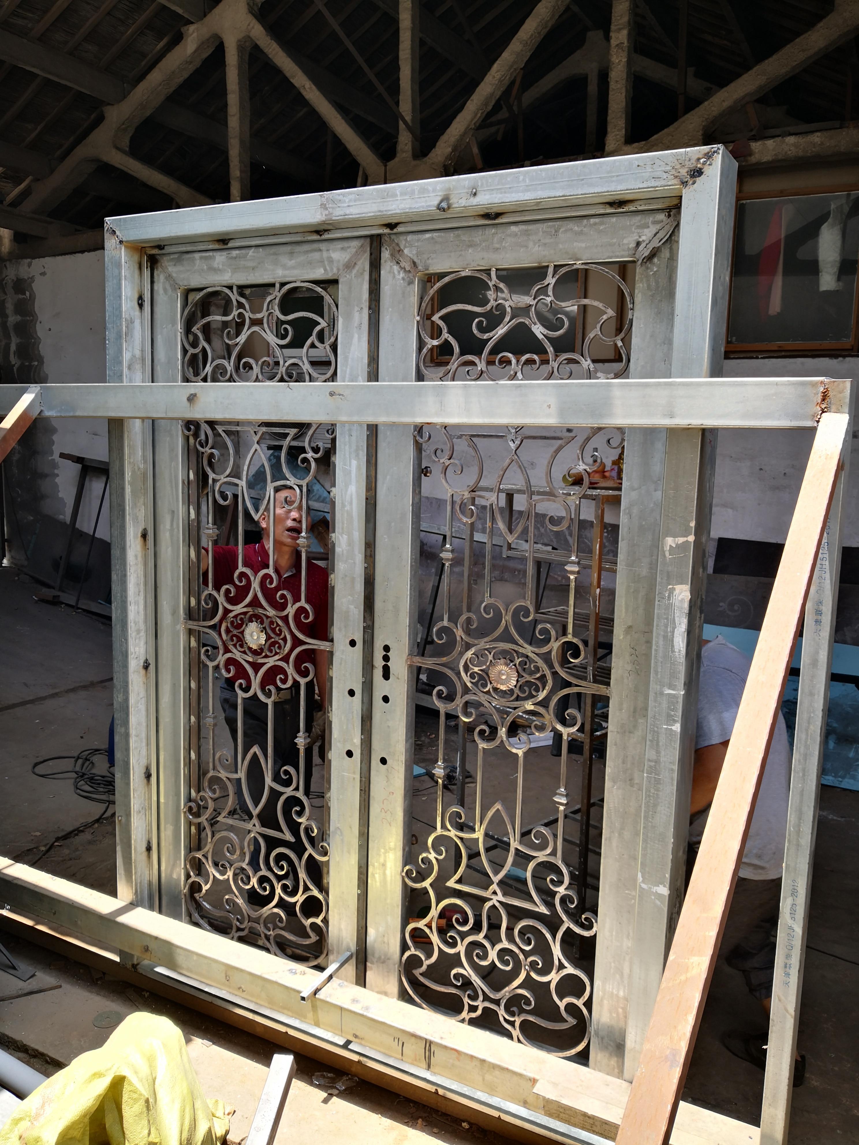 Hench 100% Steel Iron Doors  Model Hc-id131