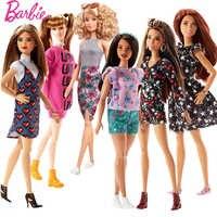 Originale Barbie Bambole di Marca Principessa Assortimento Fashionista Della Ragazza di Modo Bambola Bambini Giocattoli Regalo Di Compleanno Bambola bonecas