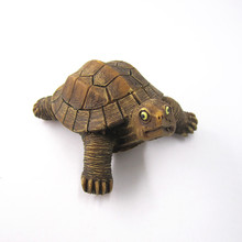 Ecuador South American Countries Fridge Magnet Souvenir Sea Turtle Tortoise Handpainted Cute Animal Refrigerator Magnets Crafts