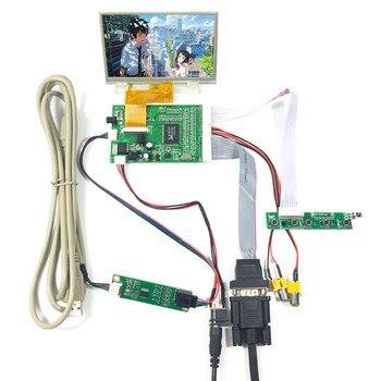 4.3 VS043T-005AT 480X272 LCD Screen 4.3 inchVGA 2AV LCD Controller Board VS-TY40-V1 5 640x480 lcd screen 5inch zj050na 08c replacement at050tn22 work with hdmi controller board vs ty2660h v1