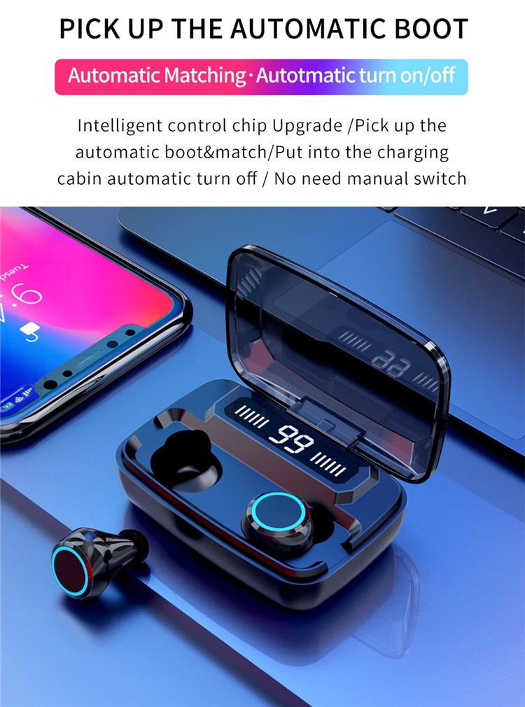 Best earbuds under $100 of 2020 With 3300mAh Power Bank