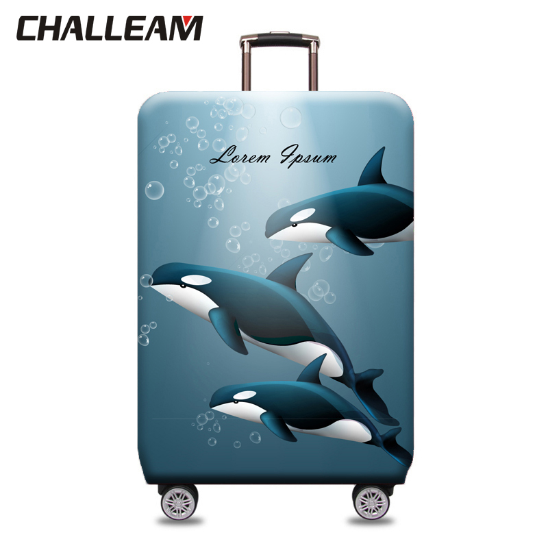 Elastic Suitcase Cover 18-32Inch Luggage Protective Covers Dust-proof Suitcase Protective Case Travel Accessories XT905
