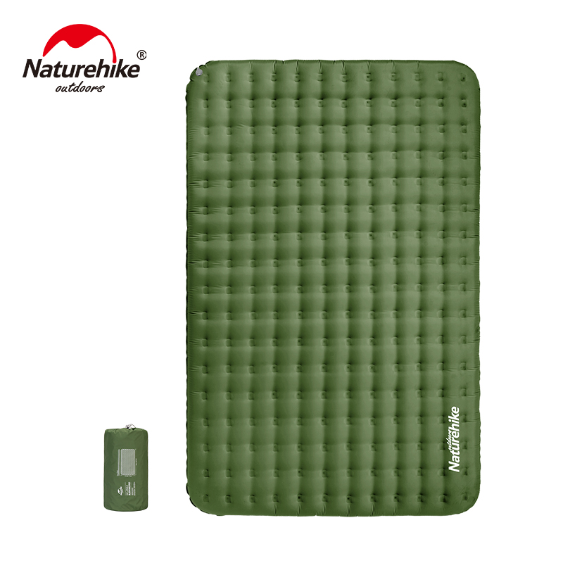 Naturehike TPU Thickened Double Inflatable Mattress Camping Siesta Portable Waterproof Outdoor Mat NH19QD010