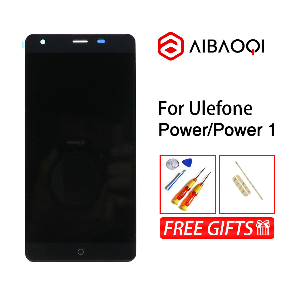 AiBaoQi High Quality For UleFone Power 1920X1080 LCD Display Screen And 5.5 Inch Touch Screen Digitizer Replacement