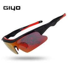 Cycling Glasses GIYO Polarized UV400 Lens Protection MTB Road Bike Sport Outdoor Bicycle Sunglasses Goggles Cycling Eyewear New carshiro outdoor cycling uv400 protection polarized sunglasses w replacement lens black white
