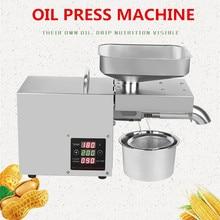 Коммерческое 220 В кокосовое масло пресс оборудование для малого бизнеса машина из нержавеющей стали масло давление арахис кунжута масло экстрактор