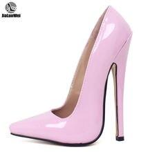 Туфли jialuowei женские на очень высоком каблуке 18 см пикантные