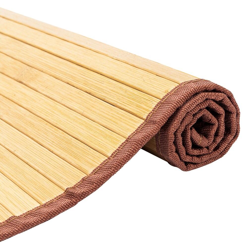 Non-sliding Waterproof Bamboo Floor Mat Rug Carpet For Hallway Bathroom