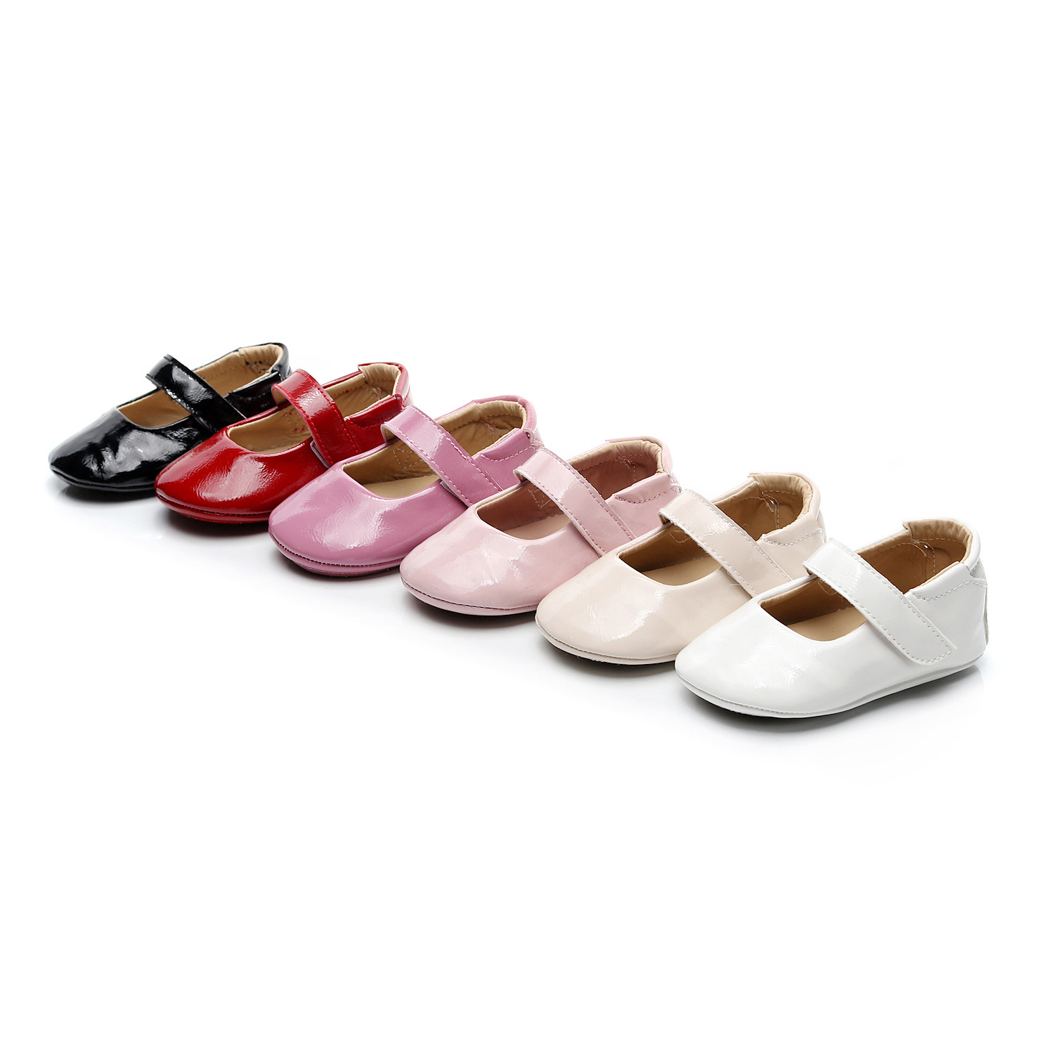 Spring And Autumn New Pu Leather Baby Toddler Shoes Baby Shoes Rubber Bottom 0-1-2 Years Old Infant Shoes