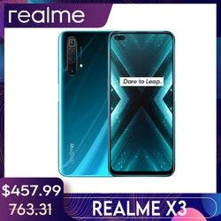 Realme X3 глобальная Версия 8 ГБ 128 6,6 ''ультра 120 Гц Экран 64-мегапиксельная четырехъядерная камера NFC Snapdragon 855 плюс мобильный смартфон