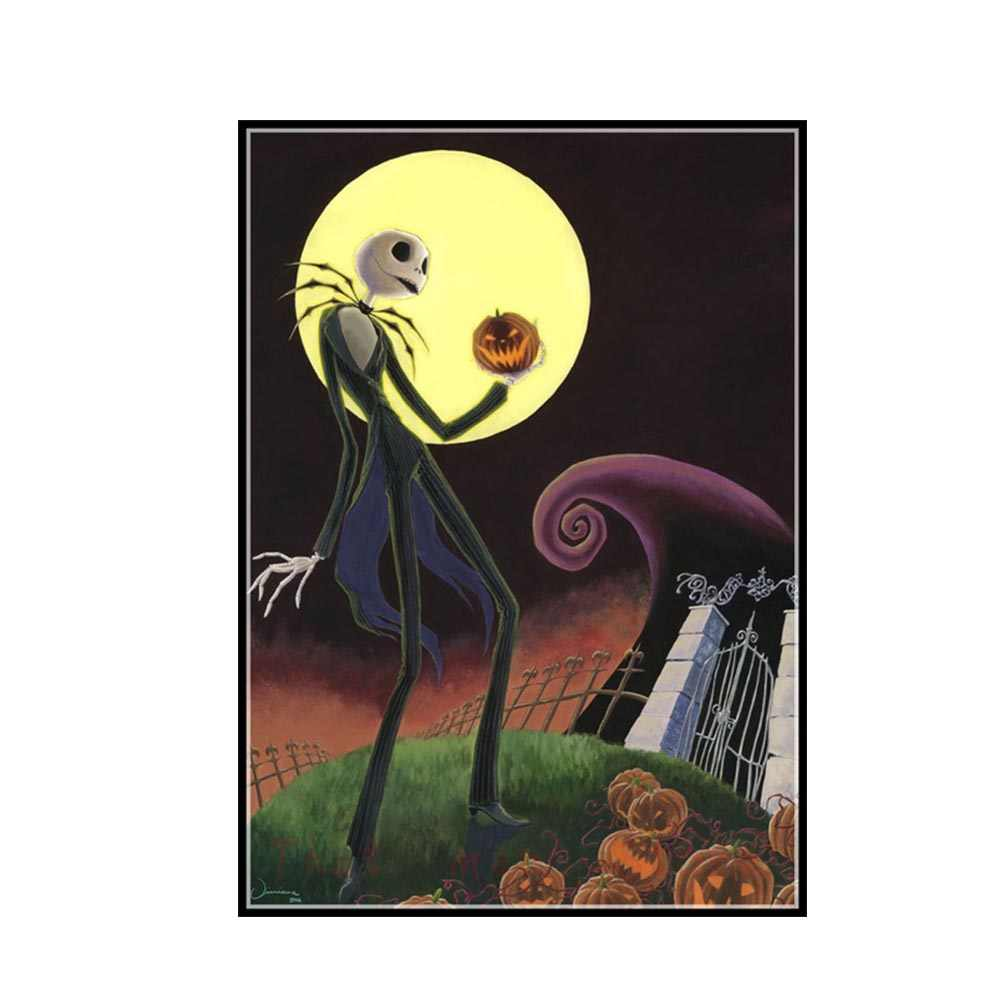 Wall Art Paintings Canvas Print HD Picture The Nightmare Before Christmas Poster Home Decoration Modular For Living Room Frame